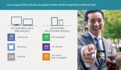 Els llocs web iaplicacions oficials dels Testimonis de Jehovà