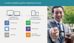 Jehova Tanúi hivatalos weboldalai és alkalmazásai