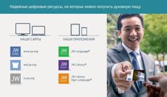 Официальные сайты и приложения Свидетелей Иеговы