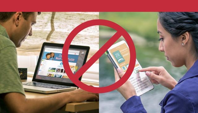 Jehova Tanúi szerzői jogvédelem alatt álló kiadványait nem szabad közzétenni valakinek a saját honlapján