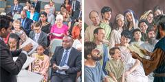 קהילה משיחית קדומה וקהילה משיחית מימינו מתעודדות מאיגרותיהם של השליחים שנכתבו בהשראת אלוהים