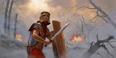 Jtul soldado yu'un Roma slapoj spisil te bin yich'oj te majkilal yu'un soldado