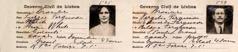 Lizzie och Virgílio Fergusons uppehållstillstånd 1928.