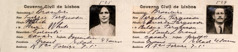 Mukanda wa kushikata nao mu ntanda-bene wa ba Lizzie ne Virgílio Ferguson, mu 1928