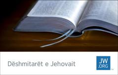 Kartëvizitë për JW.ORG