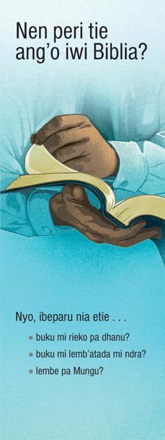 Nen peri tie ang'o iwi Biblia?