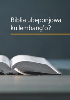 Biblia ubeponjowa ku lembang'o?