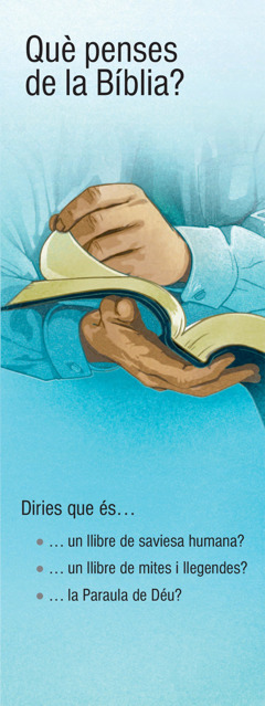 Què penses de la Bíblia?