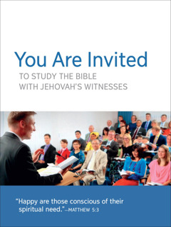 Invitation to Congregation Meetings