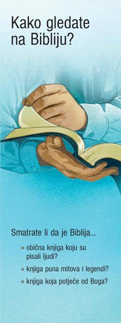 Kako gledate na Bibliju?