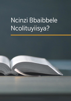 Ncinzi Bbaibbele Ncolituyiisya?