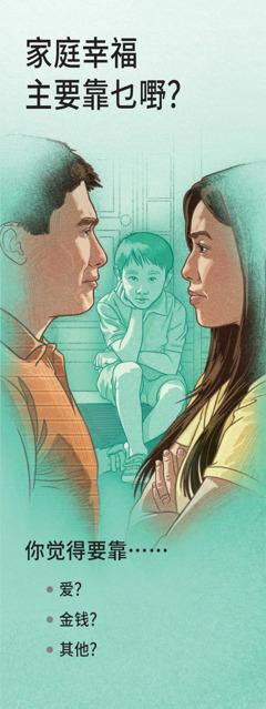 家庭幸福主要靠乜嘢?