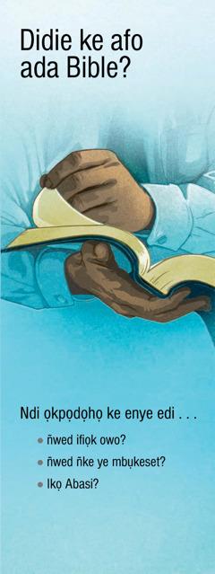 Didie ke Afo Ada Bible?