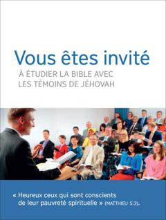 Une invitation aux réunions