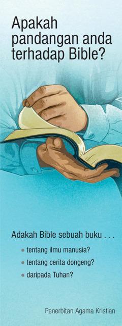 Apakah Pandangan Anda terhadap Bible?