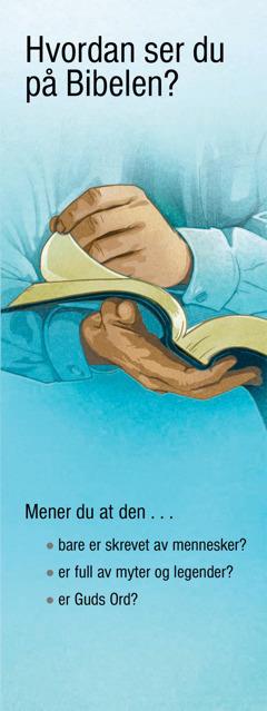 Hvordan ser du på Bibelen?