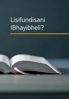 Lisifundisani IBhayibheli?