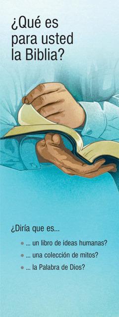 ¿Qué es para usted la Biblia?
