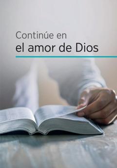 Continúe en el amor de Dios