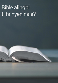 Bible alingbi ti fa nyen na e?