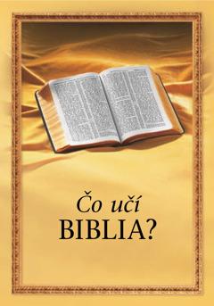 Čo učí Biblia?