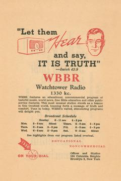 Un imprès de la WBBR