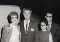 O Patricia ma Jerry Molohan, ma Lila ma Charles Molohan i le 1969