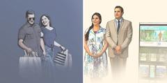 Un couple remplace les objectifs matérialistes par la prédication