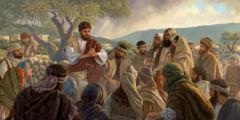Yesu le nu fiam ameha aɖe si va ƒo ƒu ɖe eŋu