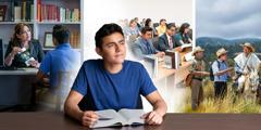 Noor vend kaalub, kas minna ülikooli või mõnda teokraatlikku kooli ja teenida suurema vajadusega territooriumil