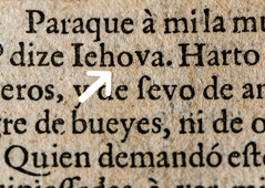 God's name in Spanish in the Reina-Valera version of the Bible