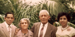 "Woodworth Mills, Antonia Brown, William ""Bible"" Brown, u Oris Mills"