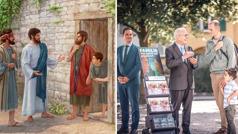 О Исус проповединела јекхе манушеске хем лескере чхавеске; џикоте тано ки служба ко прометна тхана, јекх попхуро пхрал сведочинела јекхе манушеске хем лескере чхавеске