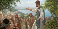 Ježíš se po svém vzkříšení setkává s učedníky