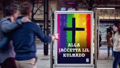 Riklam minn knisja li tittollera l-omosesswalità