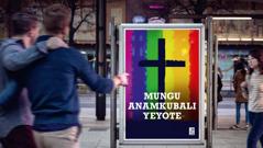 Tangazo la kanisa linalounga mkono ngono kati ya watu wa jinsia moja.