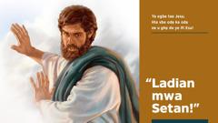 Jesu na wẹẹ ne Esu ladian mwa
