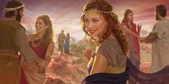 Para wanita Moab menggoda pria-pria Israel untuk berbuat cabul