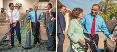 Durante a limpeza do Salão do Reino, Márcio fica irritado quando vê o José parado a conversar com um irmão e o filho; mais tarde, o Márcio vê o José a ajudar uma irmã idosa