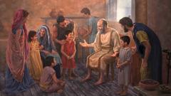 Apostol Pavao se u domu jednog brata druži sa svojim suvjernicima, pa tako i s djecom
