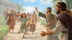 Muži, kteří byli otroky, jsou v jubilejním roce propuštěni a jejich rodiny je běží přivítat