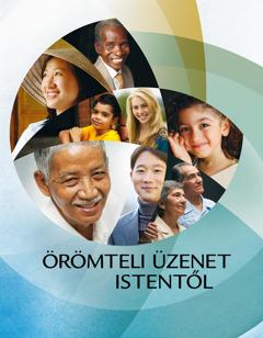 Az Örömteli üzenet Istentől című füzet címlapja
