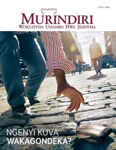 Revhista Murindiri, No. 1 2016 | Ngenyi Kuva Wakagondeka?