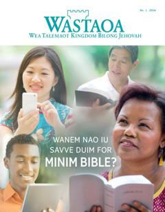 Kava bilong Wastaoa magasin, No. 1 2016 | Wanem Nao Iu Savve Duim for Minim Bible?