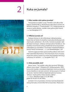 2. jakso kirjasesta Hyvä uutinen Jumalalta!