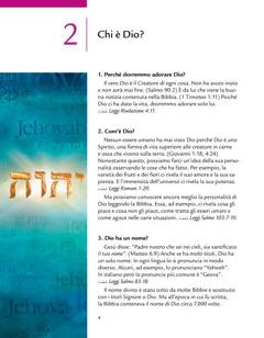 Lezione 2 dell'opuscolo Dio ci dà una buona notizia