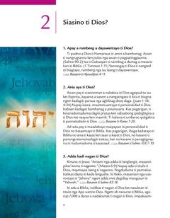 Leksion 2 iti broshur a Naimbag a Damag Manipud iti Dios