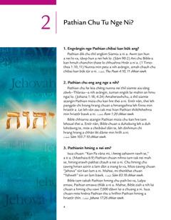 Pathian Min Pêk Chanchin Ṭha! tih brochure-a zirlai 2-na