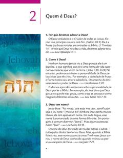 Lição 2 da brochura Boas Notícias de Deus para Você!