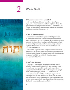 Les 2 van de brochure God heeft goed nieuws voor ons!